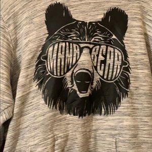 Tops - Mama bear hooded sweatshirt